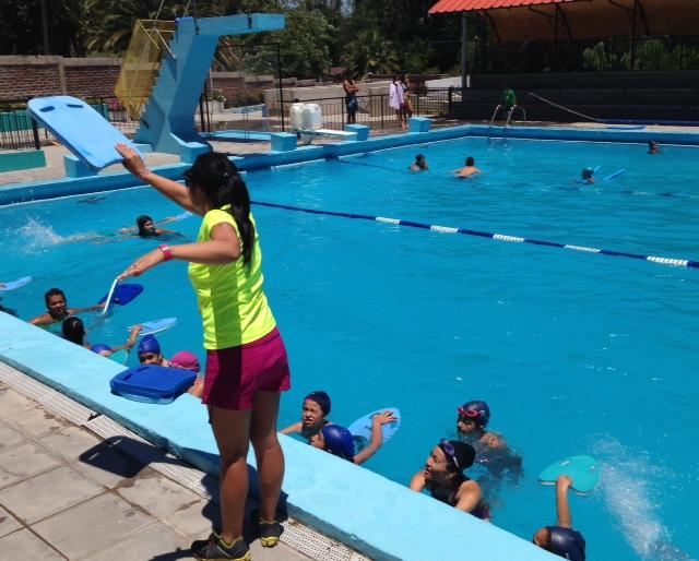 Corporación de Deportes de Machalí comienza a preparar la temporada de piscina