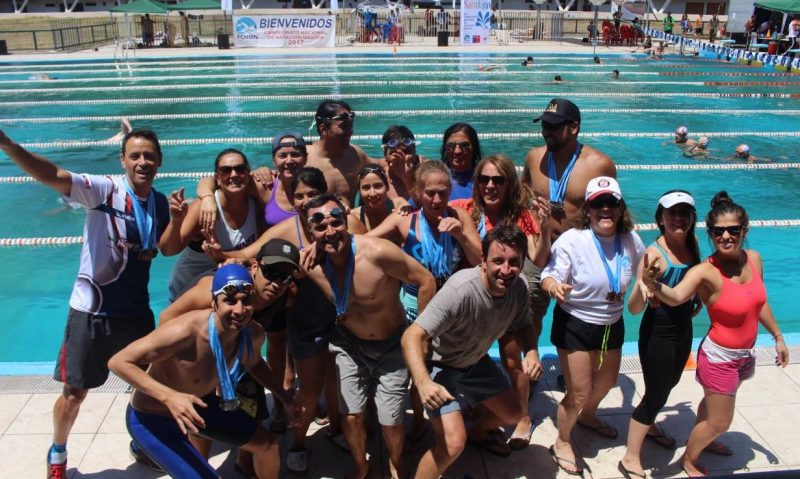 Nadadores machalinos entre los mejores de Chile