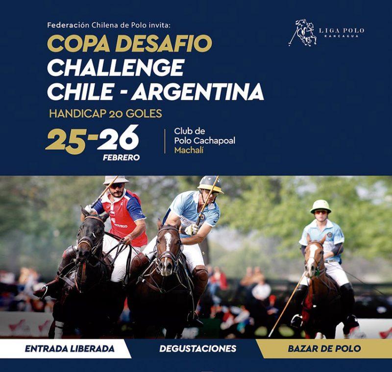 """Este sábado y domingo se disputa el Campeonato de Polo """"Copa Desafío Challenge Chile – Argentina"""""""