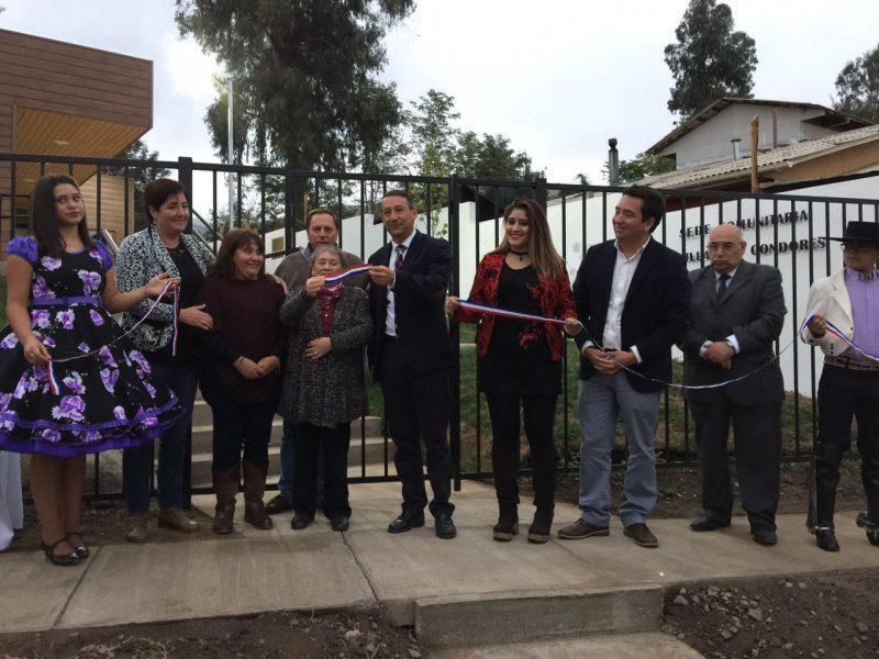 Inauguran nueva sede social de Villa Los Cóndores