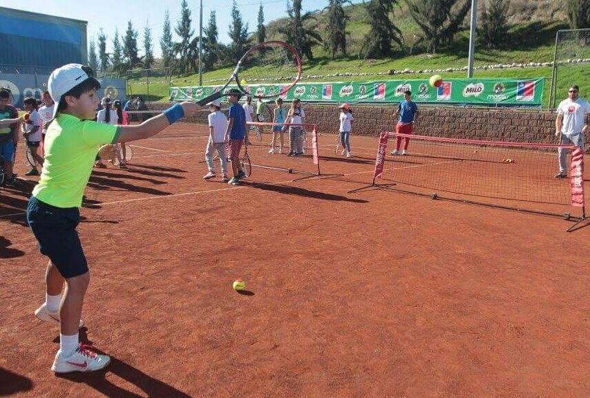 Pequeño tenista machalino entre los 5 mejores de Chile