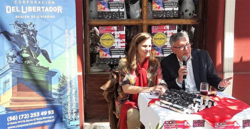 Festival Toccata Rancagua se expande a comunas y llega por vez primera a Machalí