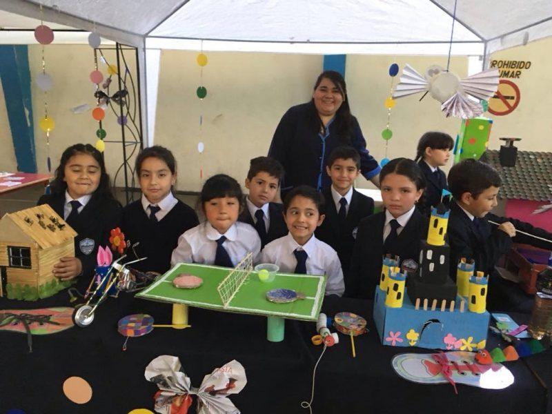 Alumnos del Colegio Bellavista se lucieron en la Feria de los Aprendizajes