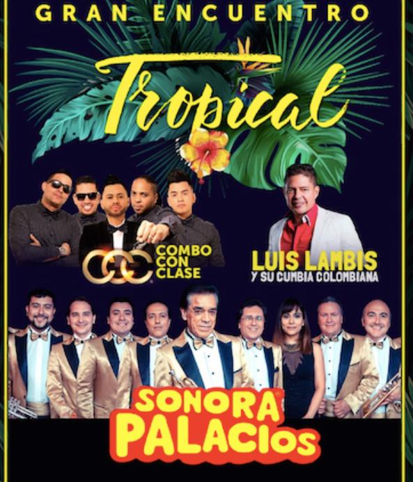 La Sonora Palacios y Luis Lambis estarán en la Gran Noche Tropical de Sun Monticello
