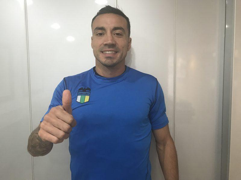 Roberto Cereceda ya es celeste
