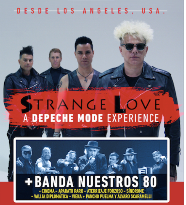 StrangeLove: El tributo número 1 de Depeche Mode llega a Sun Monticello