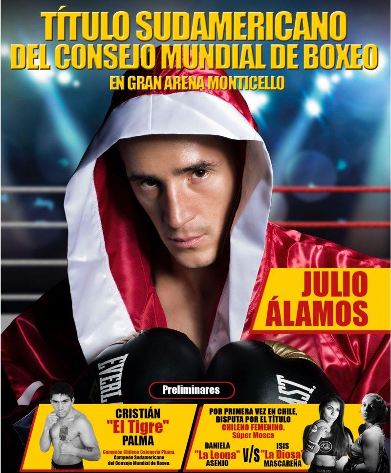 El Título Sudamericano de Boxeo se disputa en Sun Monticello