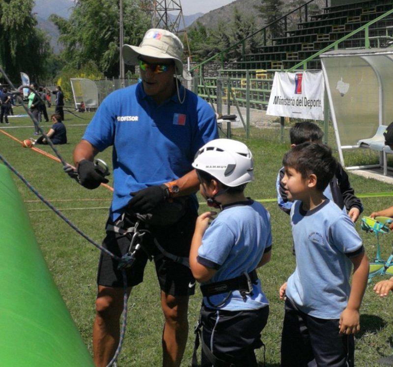 Alumnos del Colegio Bellavista de Coya tuvieron el Primer Encuentro Deportivo Formativo
