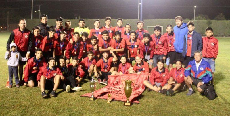 Machalí gritó campeón en Torneo Internacional de Pumanque