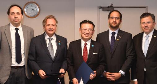 UOH inicia relaciones con instituciones japonesas para potenciar investigación en robótica y agricultura