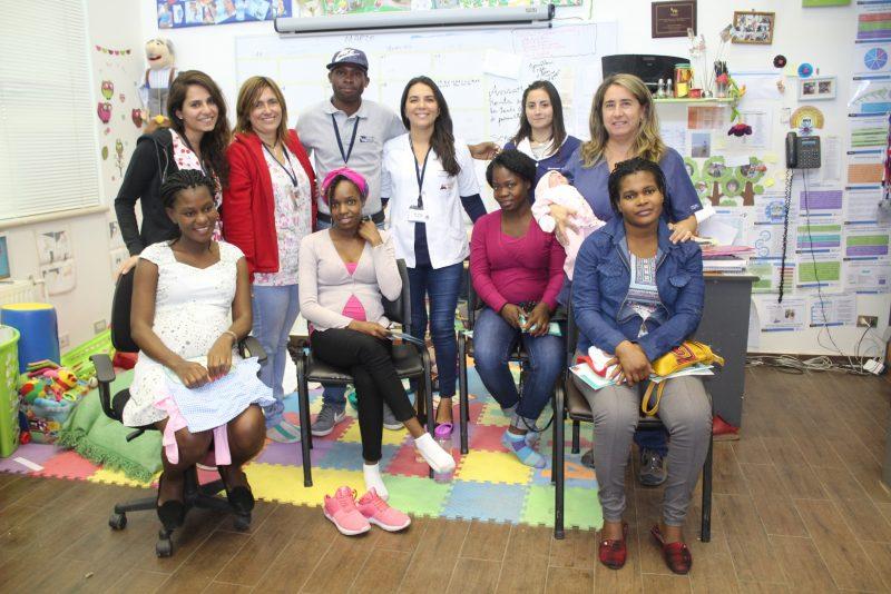 Realizan taller de prenatal para la comunidad haitiana