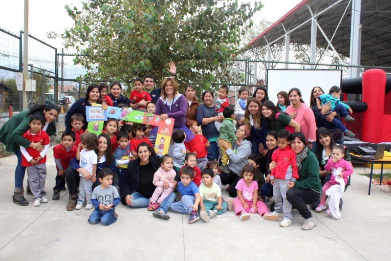 Niños machalinos celebraron el Día del Deporte