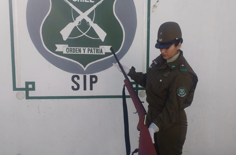 Detienen a sujeto portando escopeta en las cercanías de Jardín Infantil
