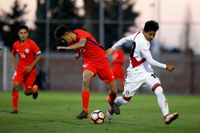 La Roja Sub 17 derrotó a Perú en Rancagua
