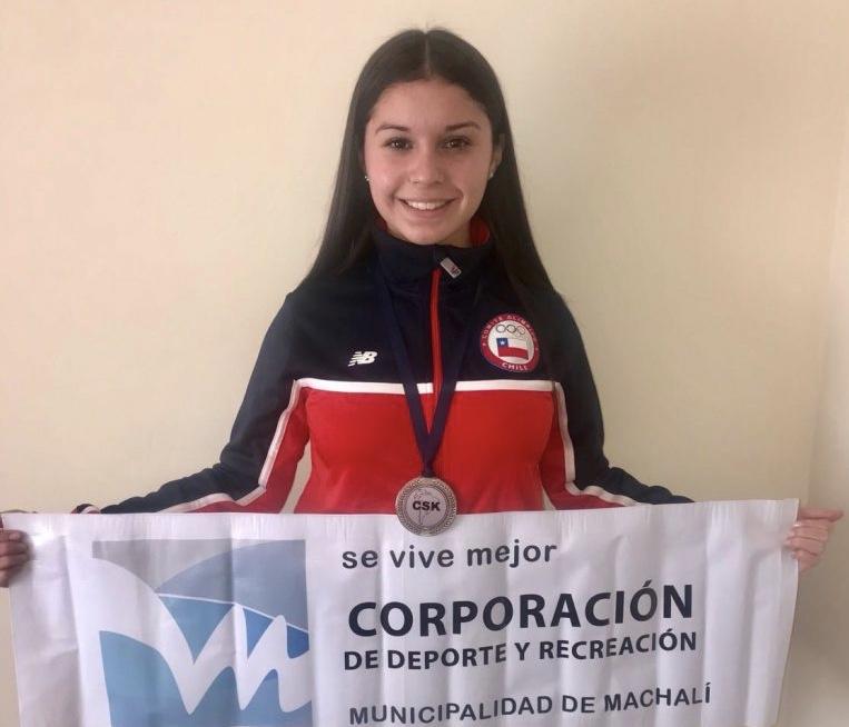 Machalina es Vicecampeona Sudamericana de Karate