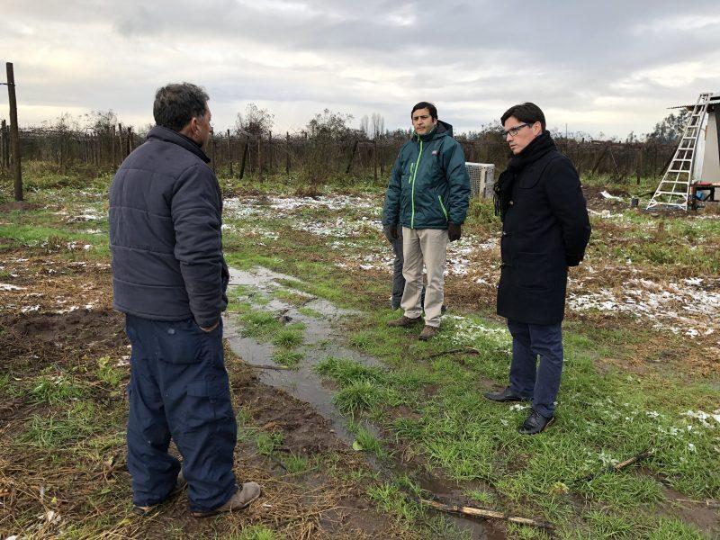 Entregan recomendaciones para la agricultura por bajas temperaturas