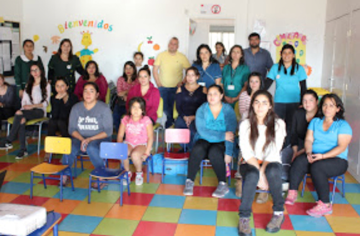 Apoderados de Machalí conocen en profundidad los beneficios de los programas Sembrando Sonrisas y Cero