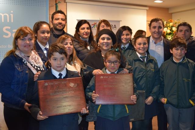 Colegios y salas cuna de Machalí se comprometen y son reconocidos como Promotores de Salud
