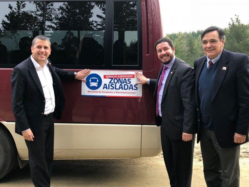 Nuevo servicio de transporte mejorará la calidad de vida de las familias del sector La Aguada de Pichilemu