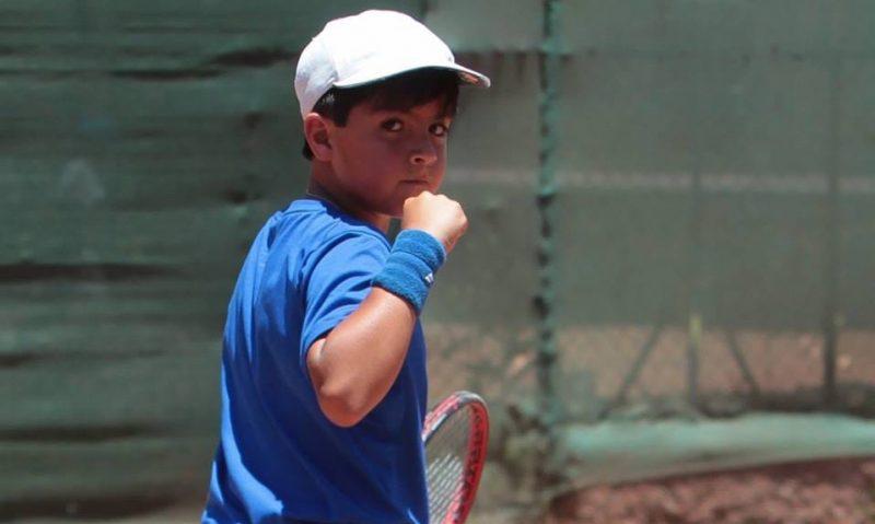Pequeño tenista machalino es el nuevo número uno de Chile