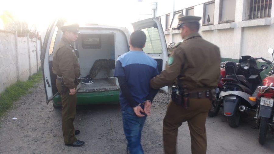 Detienen a menores que asaltaban a escolares en Av. San Juan