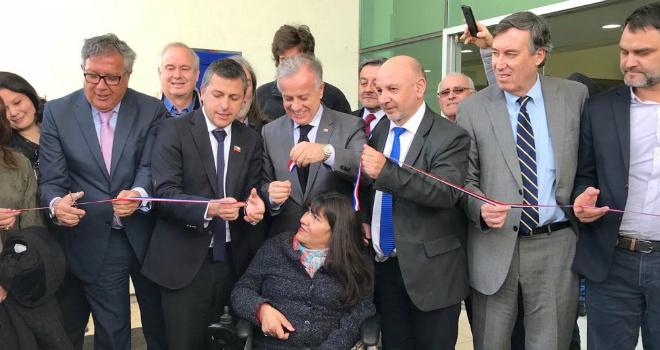 Ministro Emilio Santelices inauguró moderno Cesfam Dr. Juan Chiorrini en Rancagua
