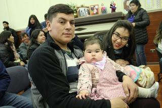 Familia machalina es reconocida en ceremonia regional sobre promoción de la Lactancia Materna Exclusiva