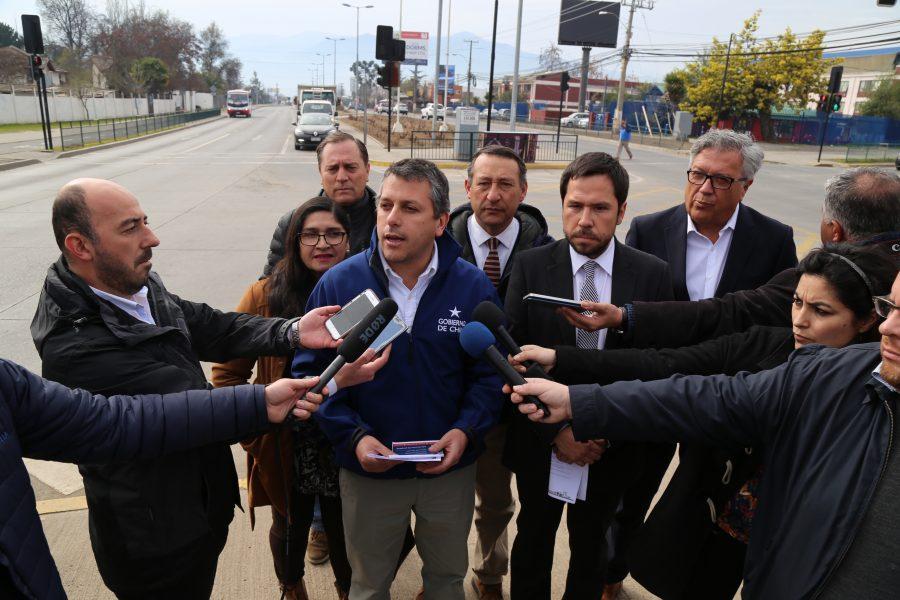 CONEXIÓN REPÚBLICA-SAN JUAN: Intendente Masferrer anunció que esta  año se iniciarían obras de nueva vía Rancagua-Machalí