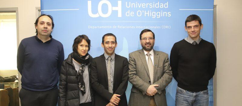 Universidad de O'Higgins e Instituto tecnológico alemán avanzan en alianza de investigación regional