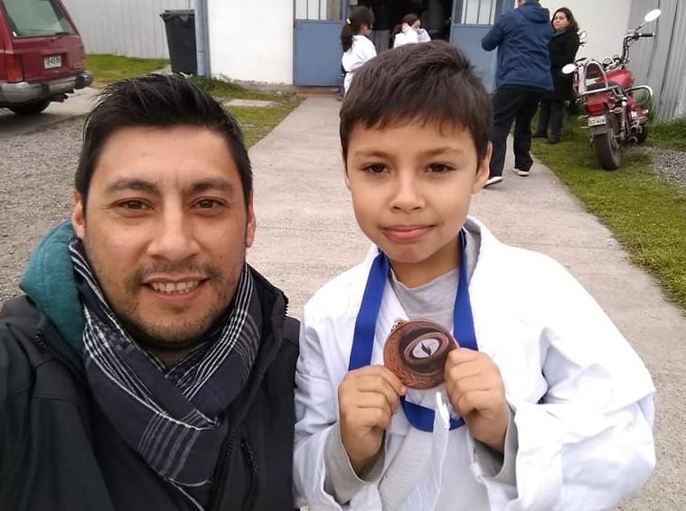 Kárate machalino brilló en  torneo nacional de San Fernando