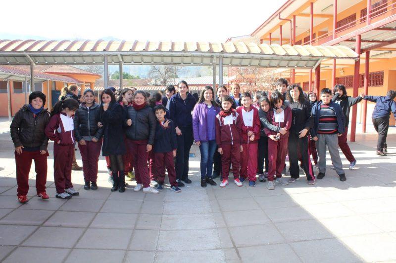 Impulsan estilos de vida saludables en alumnos del Colegio Gabriela Mistral