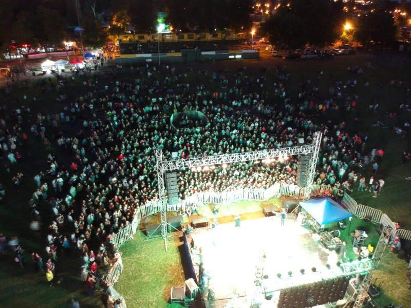 """La música y el deporte marcaron el """"360 Machalí Sabroso Ecofest"""""""