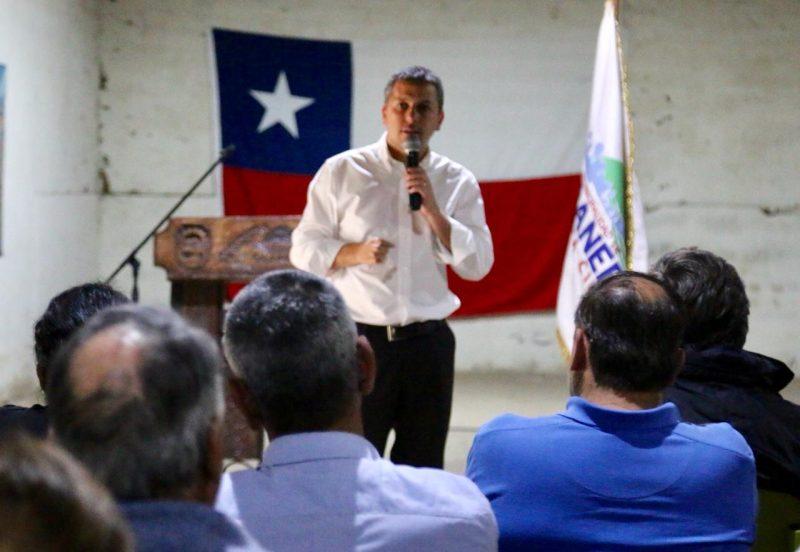Intendente Masferrer se reúne con productores afectados por granizada