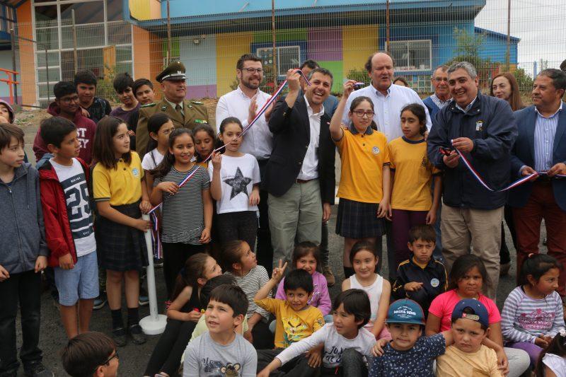 Intendente Masferrer y Alcalde de Litueche inauguran obras en beneficio de la calidad de la educación