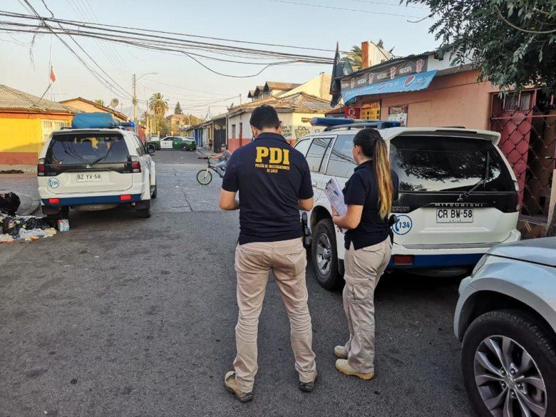Rancagua: investigan posible ajuste de cuentas en homicidio ocurrido este domingo en el sector poniente