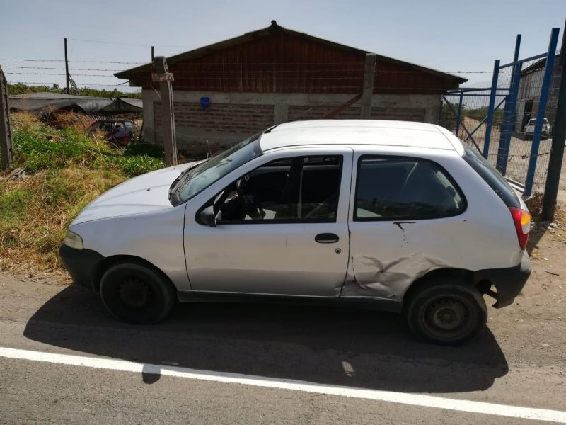 En Codegua encuentran auto robado en las cercanías del Terminal O'Higgins de Rancagua