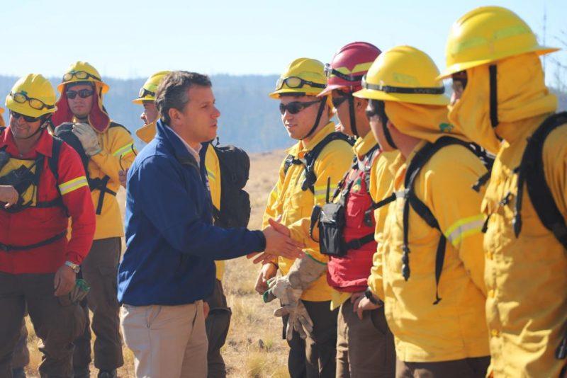 Gobierno regional invertirá mil 231 millones en programa de ataque rápido a incendios forestales