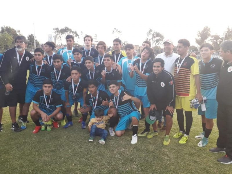 Machalí logra el Tercer Lugar en el Campeonato Nacional Sub 17
