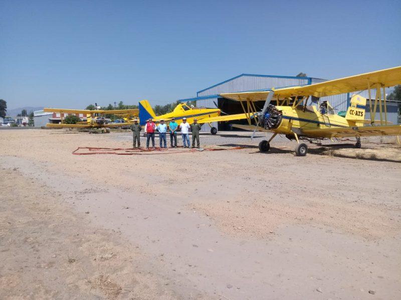 O'Higgins: con dos nuevos aviones cuenta la región para el combate de incendios forestales