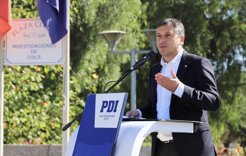 Intendente Masferrer anuncia histórica inversión en vehículos para la PDI con el objetivo de mejorar la seguridad en O'Higgins