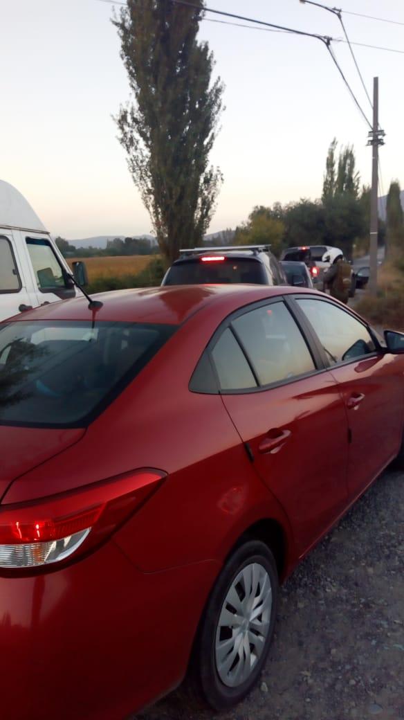 Carabineros de Machali realiza fiscalización a vehículos en Carretera el Cobre