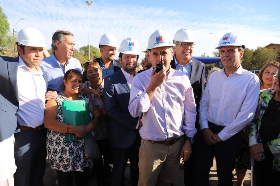 Intendente Masferrer dio inicio a obras de apertura de Av. La Victoria que mejorará conectividad en sector oriente de Rancagua