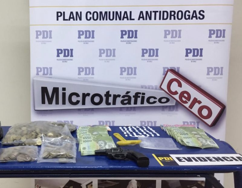 San Vicente: allanamientos a domicilios arroja tres detenidos e incautación de droga