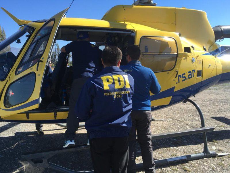 Rancagua: PDI efectúa primer control migratorio a aeronave Argentina