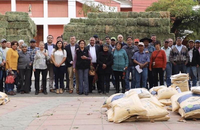 Graneros: entregan más de 17 millones de pesos en insumos agrícolas a campesinos