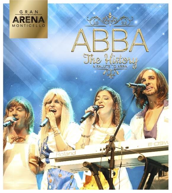 ABBA THE HISTORY EN GRAN ARENA MONTICELLO