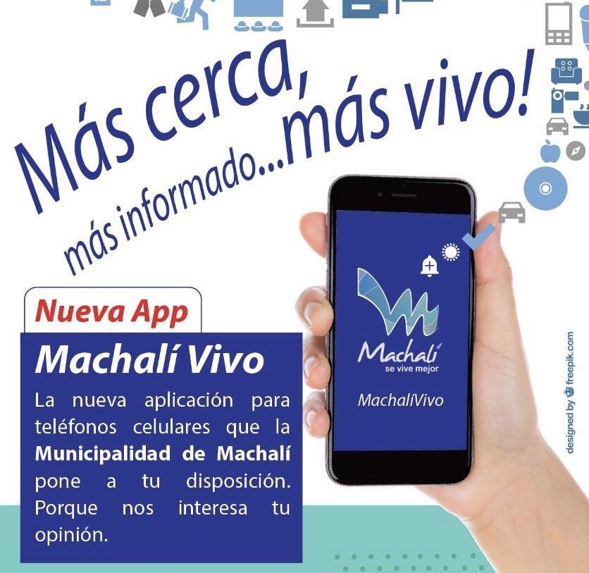 Machalí: Municipalidad lanza aplicación para teléfonos celulares