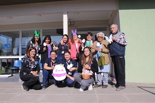 Salud Machalí celebró la pascua de resurrección fomentando una alimentación saludable y responsable