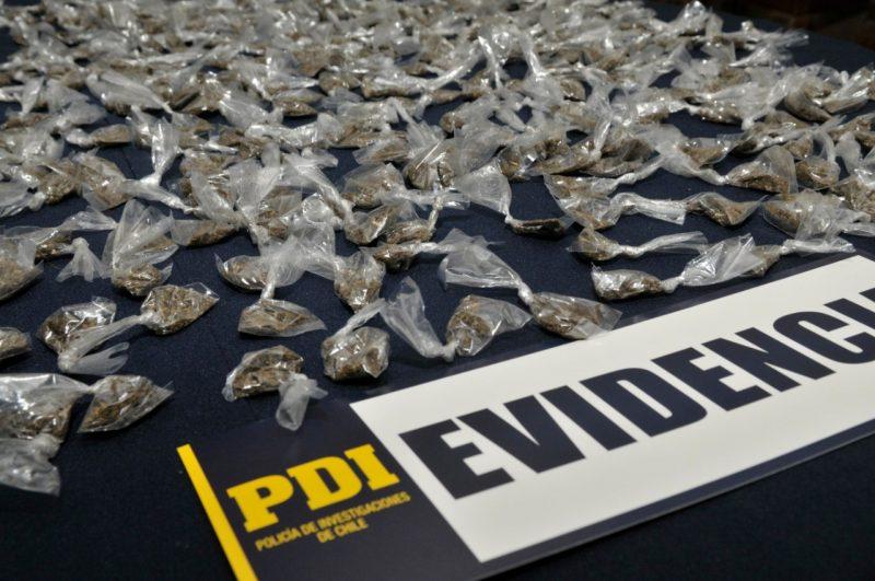 Rengo: riña permite a la PDI incautar drogas y una arma