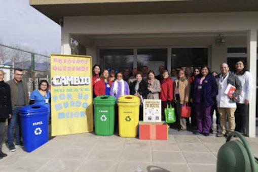 CECOSF Santa Teresa inauguró punto limpio impulsando la protección del medioambiente